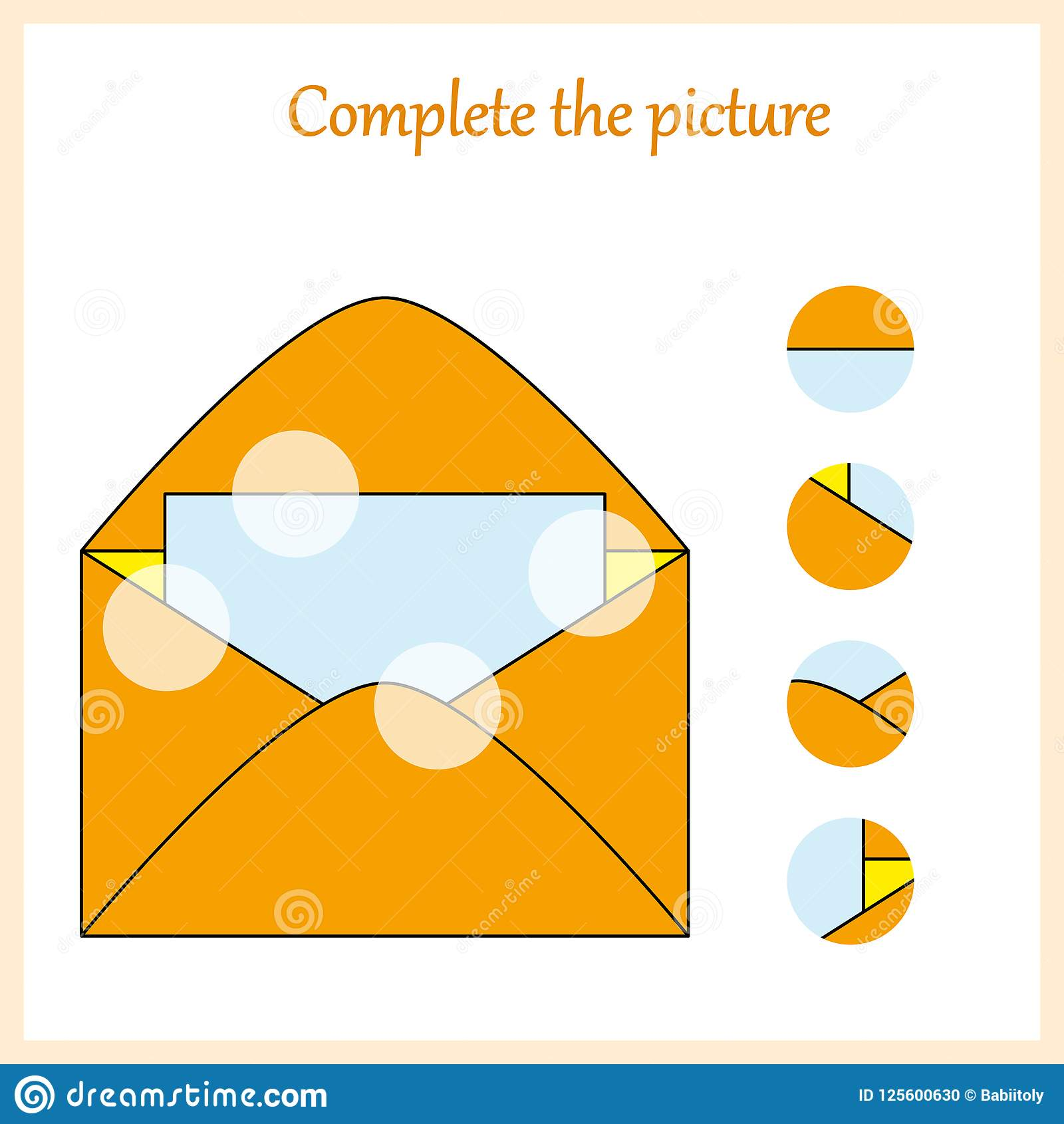 Puzzle Pieces And Big Ideas Cartoon Vector