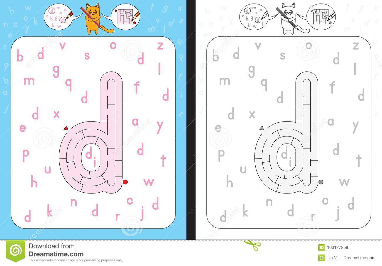 Maze Letter N Stock Illustrations 1 365 Maze Letter N Stock Illustrations Vectors Amp Clipart