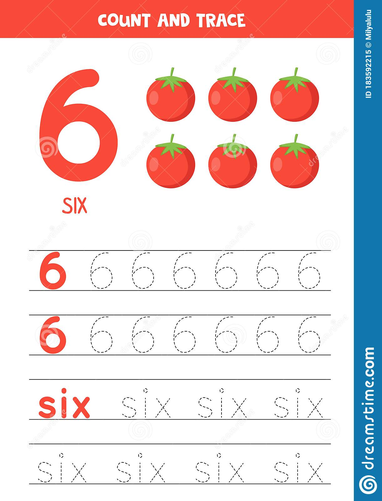 Worksheet For Learning Numbers And Letters With Cartoon