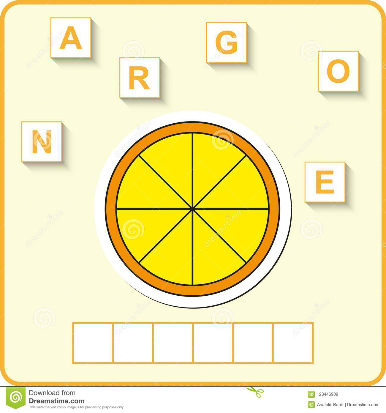Worksheet For Education Words Puzzle Educational Game For