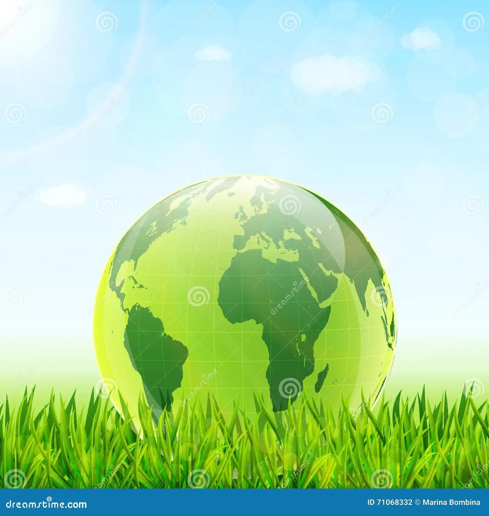 World Environment Day Concept Stock Vector