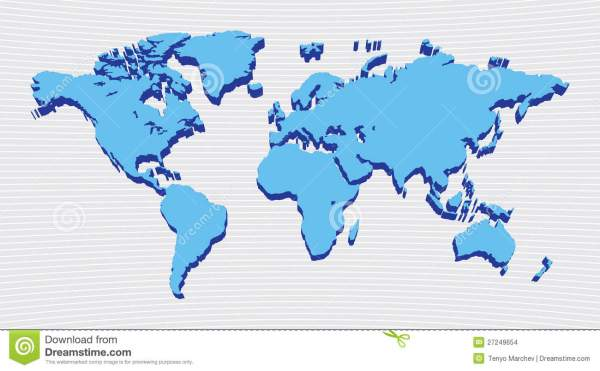 World map design stock vector Image of general