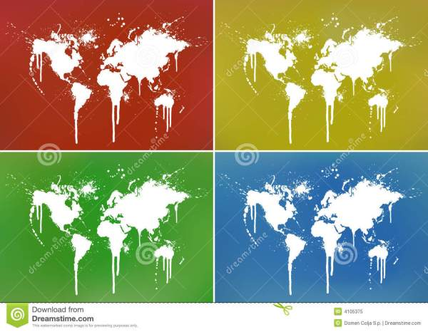 20+ Paint Splatter World Map Background Pictures and Ideas on Meta ...
