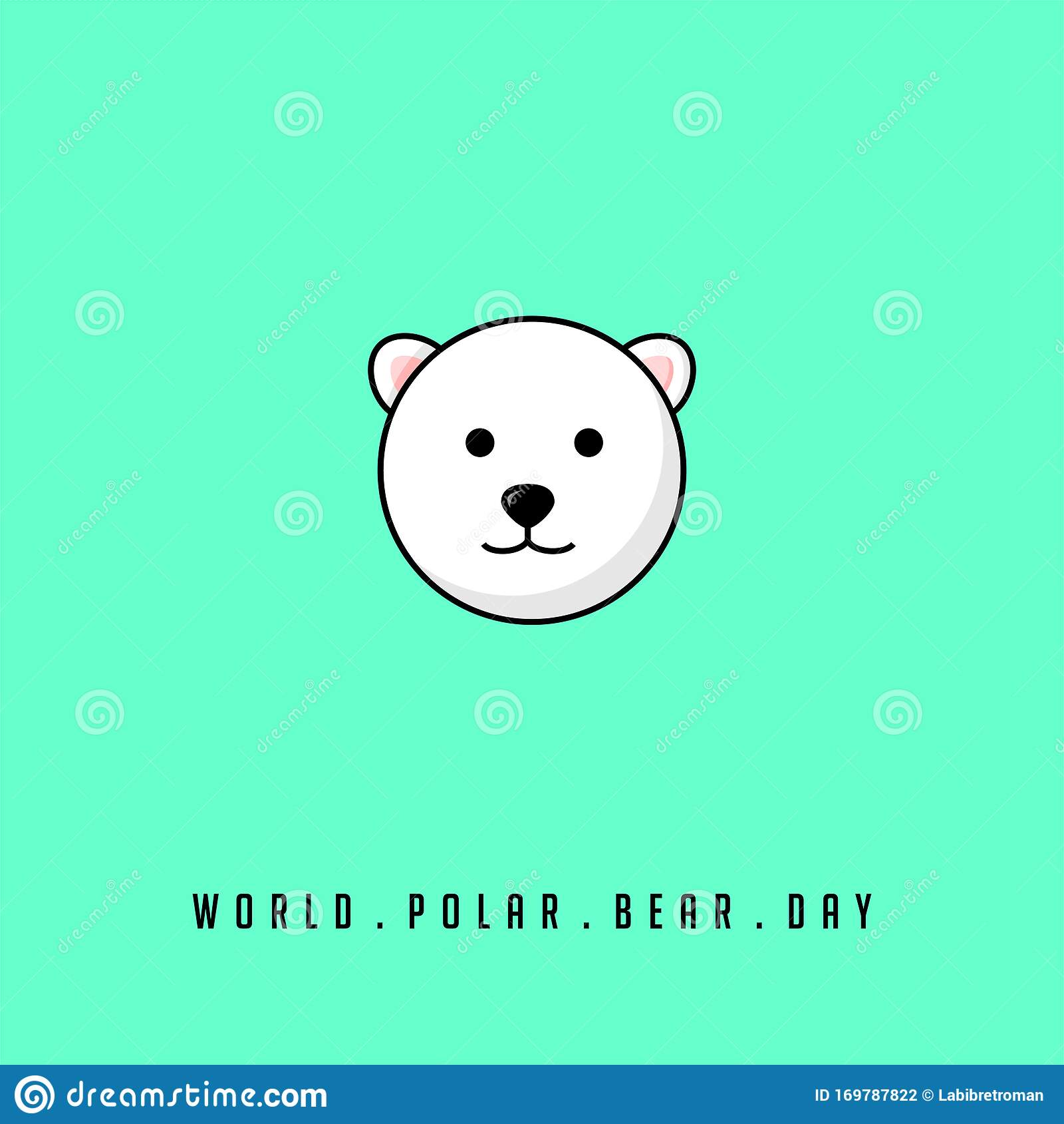World Polar Bear Day Stock Vector Illustration Of Life 169787822