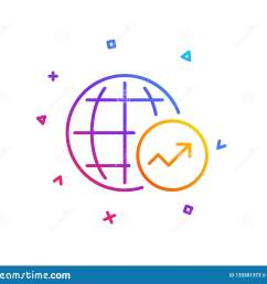 world statistics line icon chart sign vector [ 1600 x 1383 Pixel ]