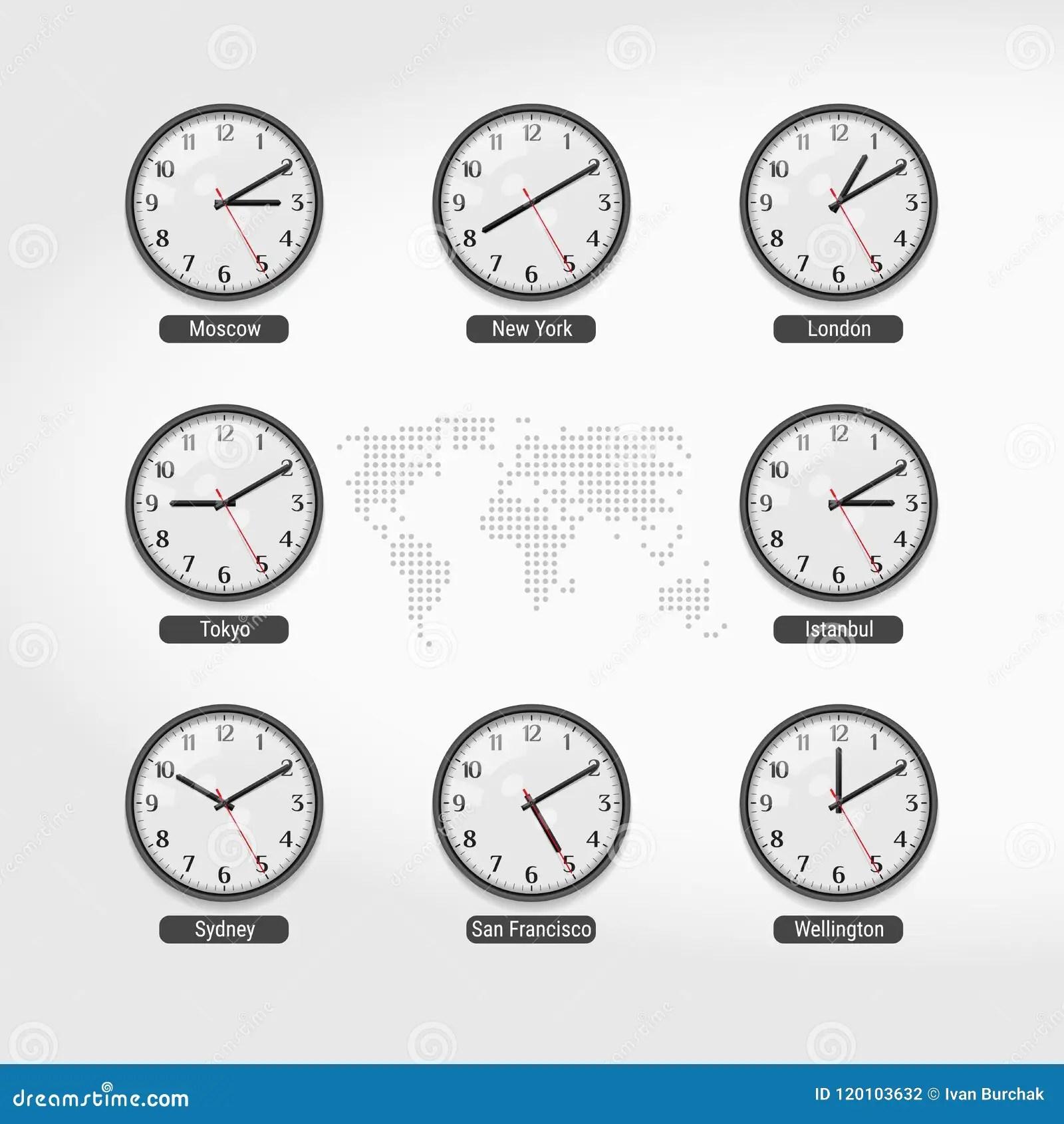 world time clocks current
