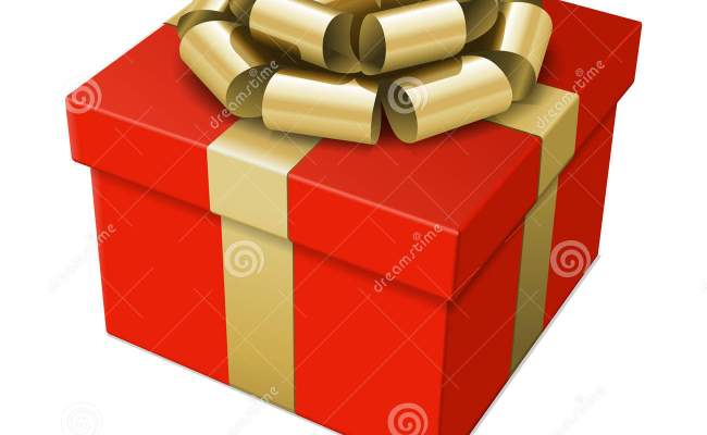 Wrapped Gift Box With Bow Royalty Free Stock Image Image