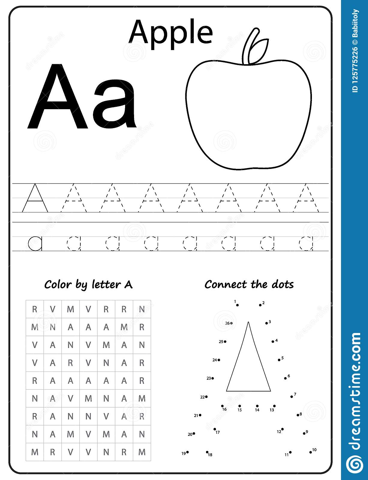 Ad Letter Worksheet