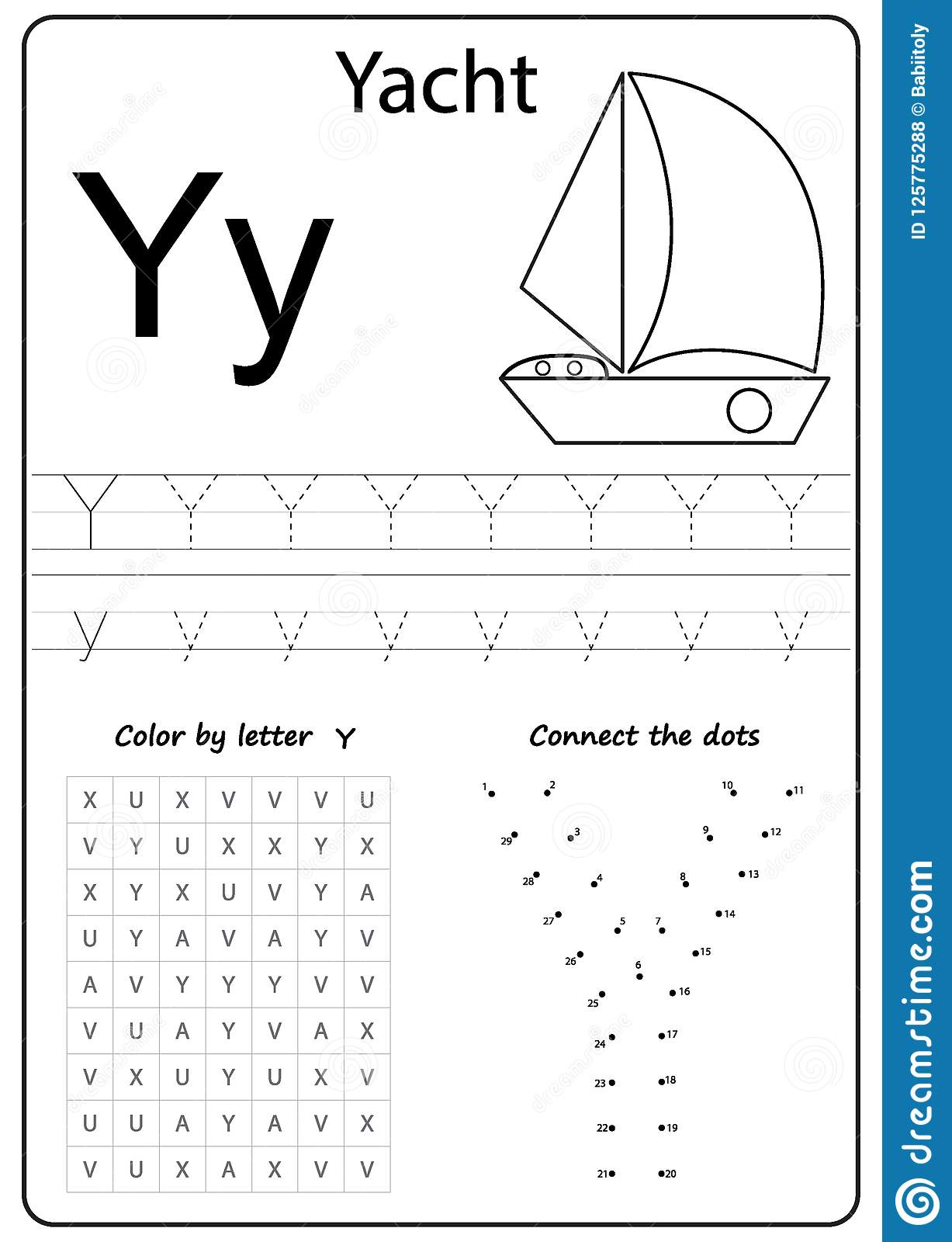 I Spy Letter A Worksheet