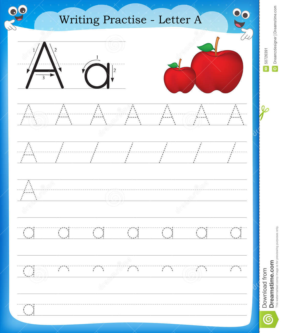 G For Ghost Worksheet For Preschool