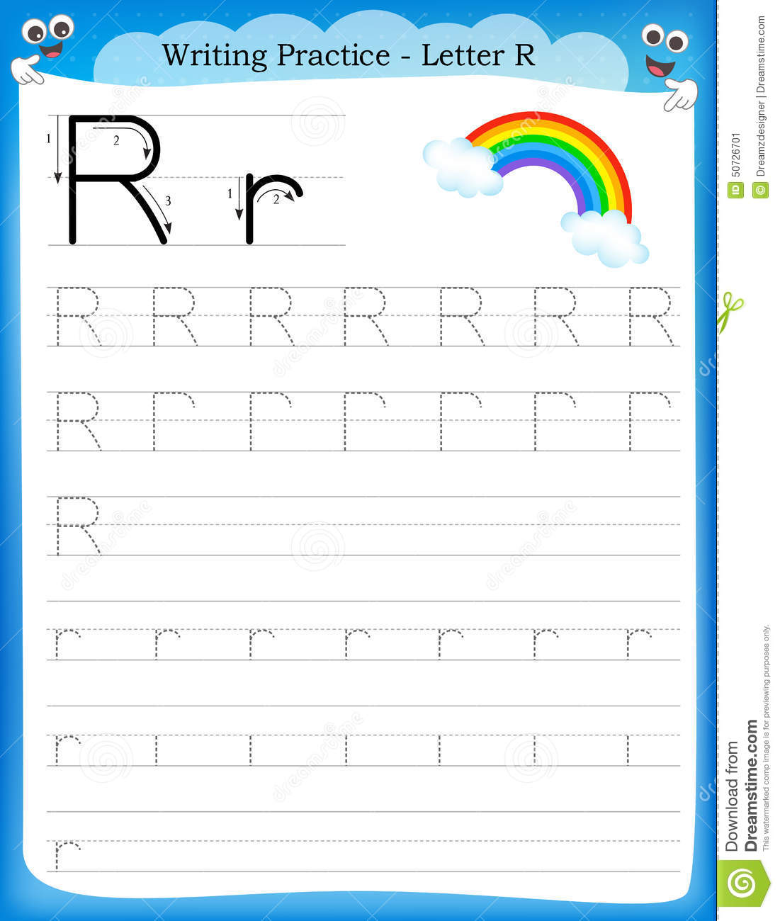 Small Letter Q Worksheet