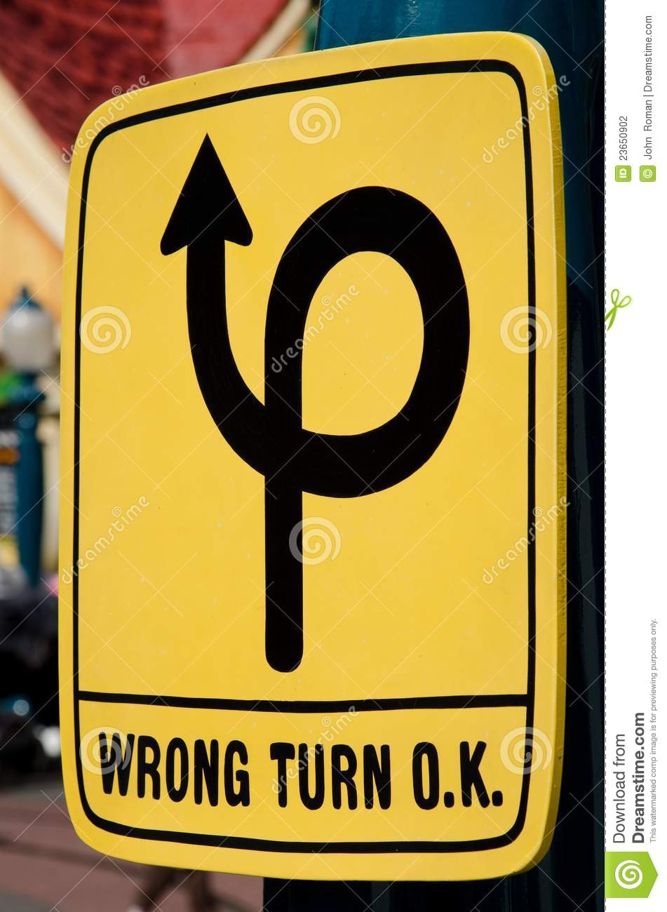 Image result for wrong turning