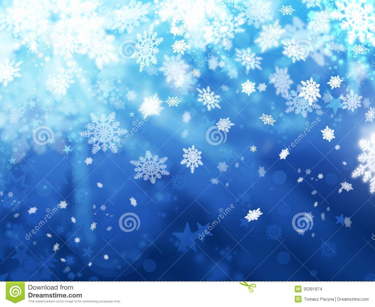 Free Animated Falling Snow Wallpaper Xmas Snoflakes Abstract Winter Background Stock