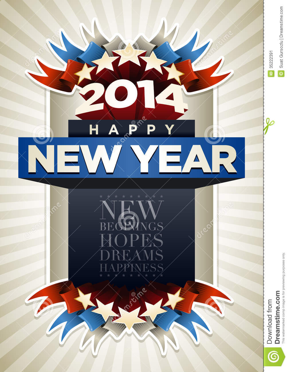 2014 New Eve Template Flyer Year S Party