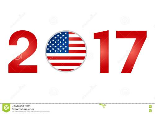 small resolution of year 2017 with usa american flag