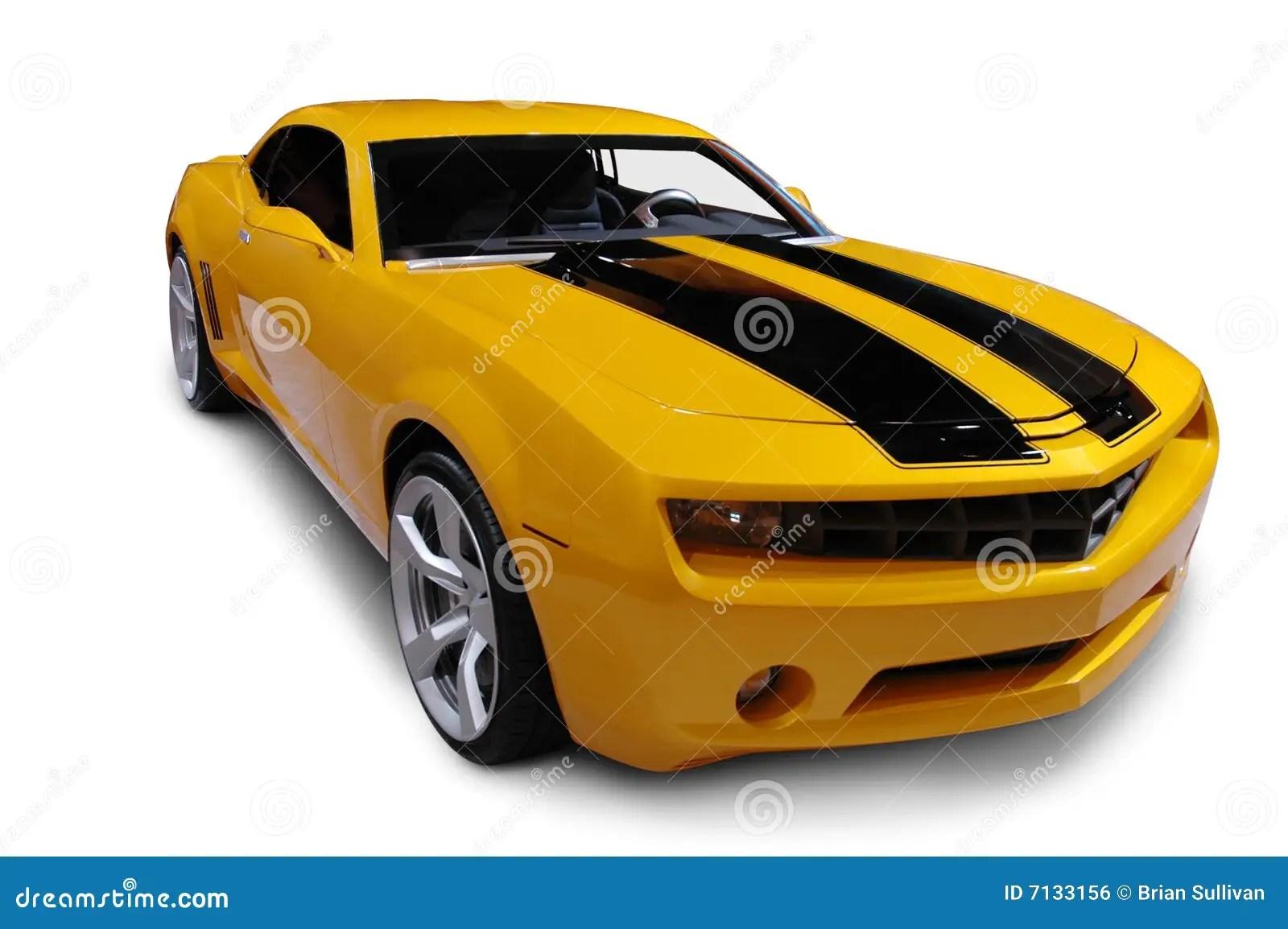 Race Car Wallpaper Free Download Yellow 2009 Camaro Royalty Free Stock Image Image 7133156