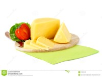 Yellow Cheese On A Wooden Plate Stock Photography - Image ...