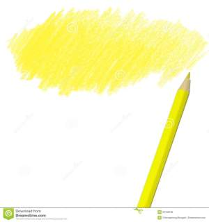 pencil drawing colored yellow pencils background drawings clipart royalty clipartpanda