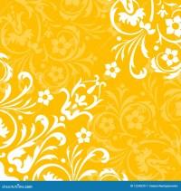 Yellow flourish background stock vector. Image of nature ...