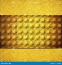Yellow Gold Background Layout Design Stock Illustration ...