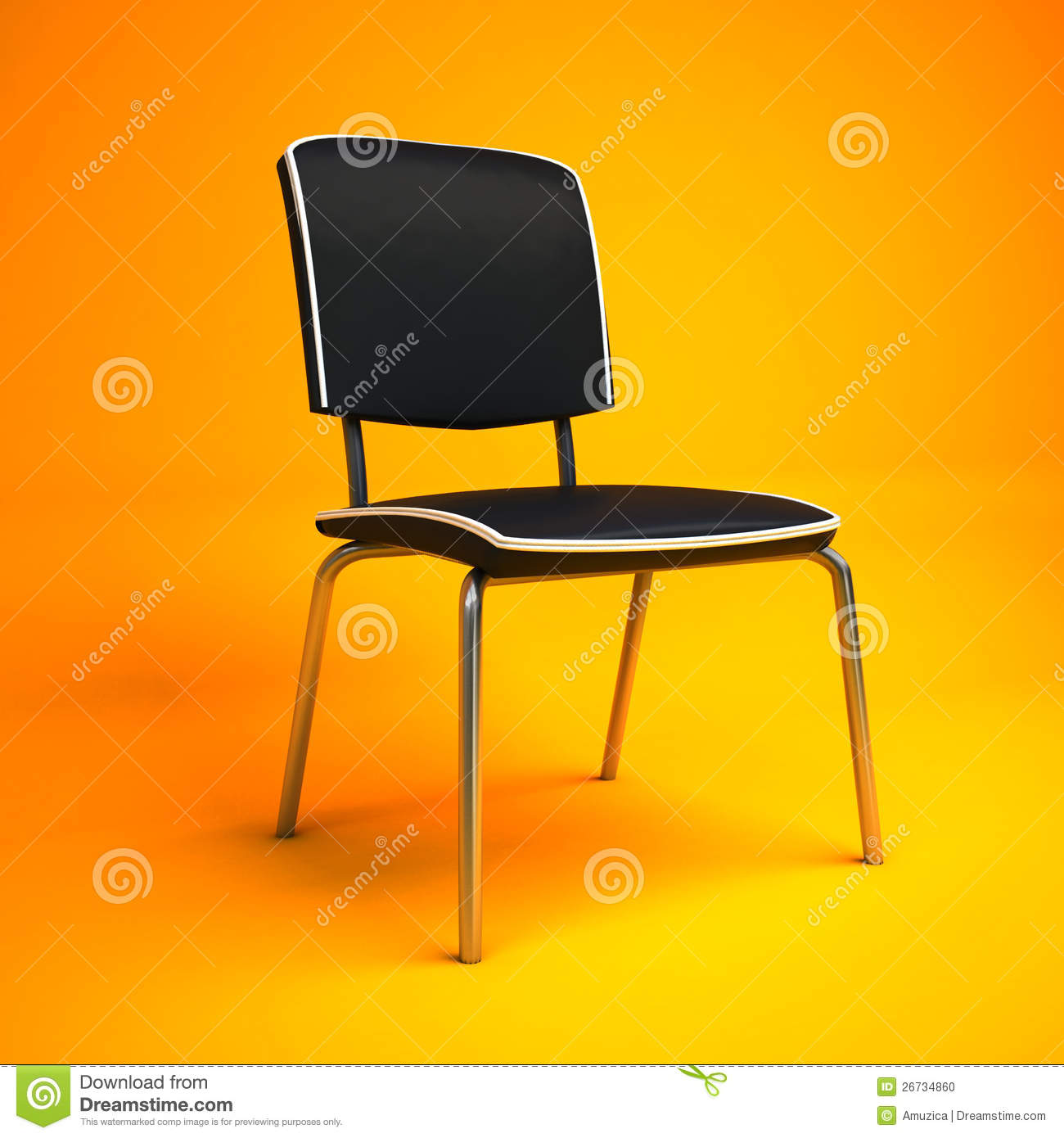 yellow office chair antique white stock image cartoondealer 19776277
