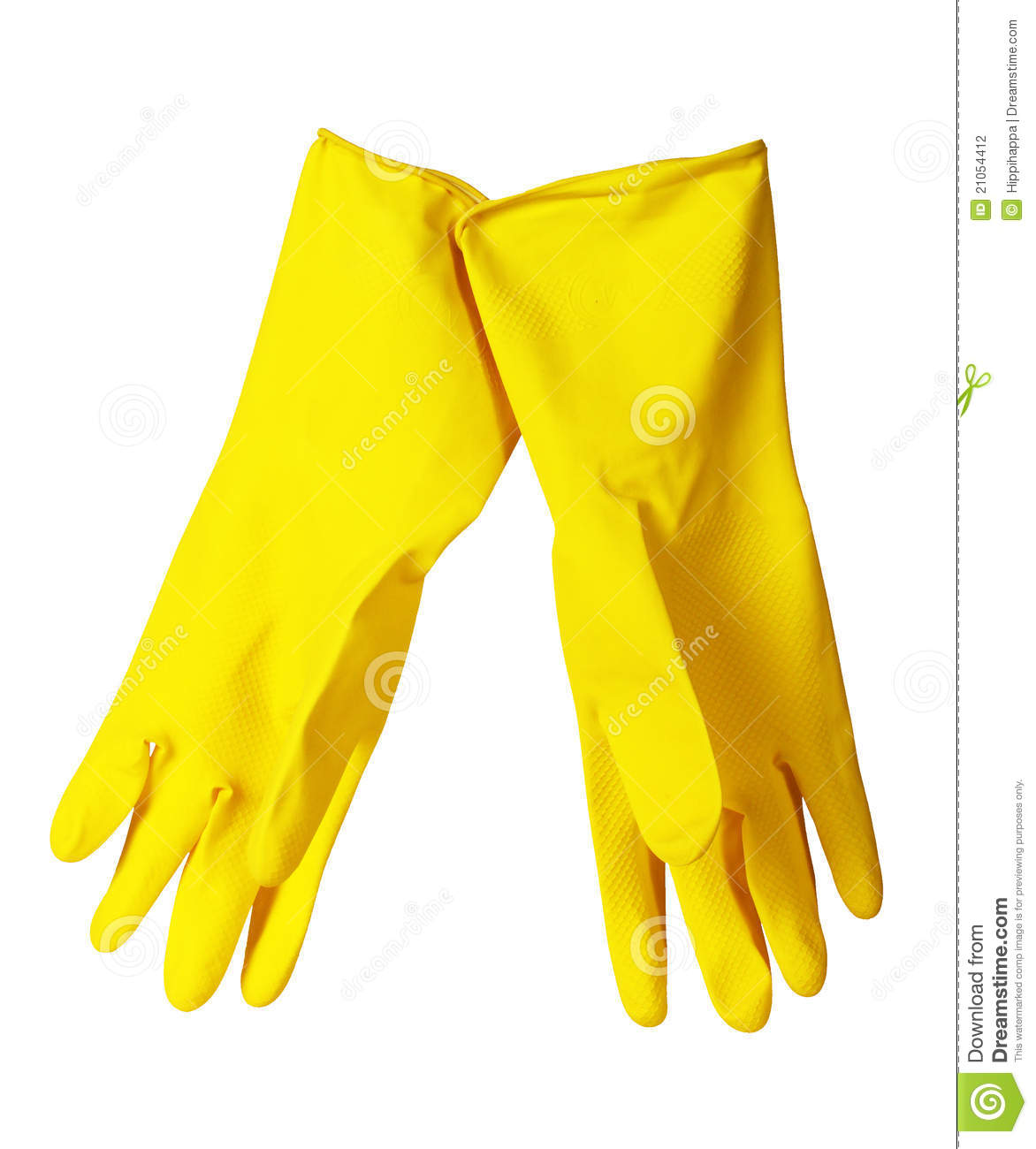kitchen gloves magazines yellow stock photo image of cleanliness 21054412