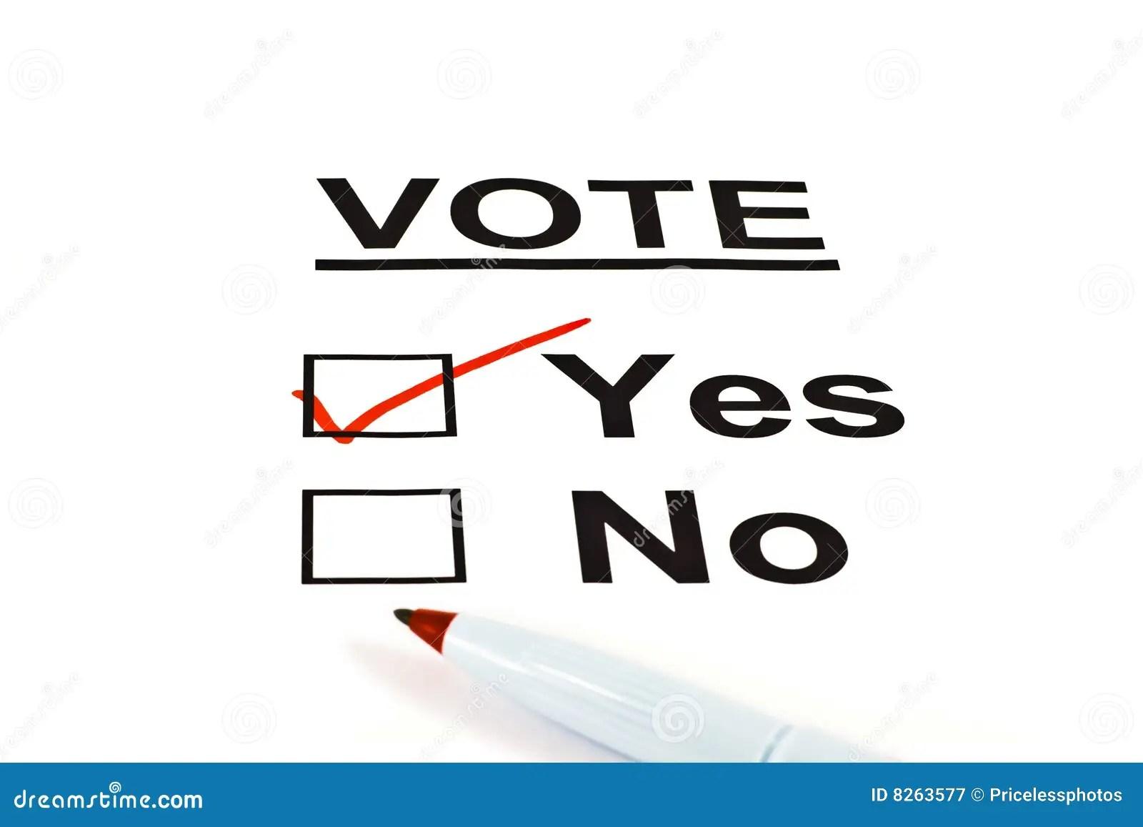 Check Yes Or No