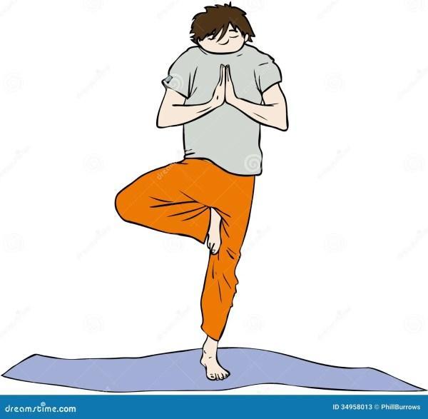 Yoga Man Stock - 34958013