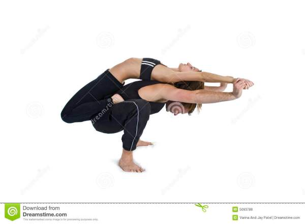 Yoga Two - Series Royalty Free Stock