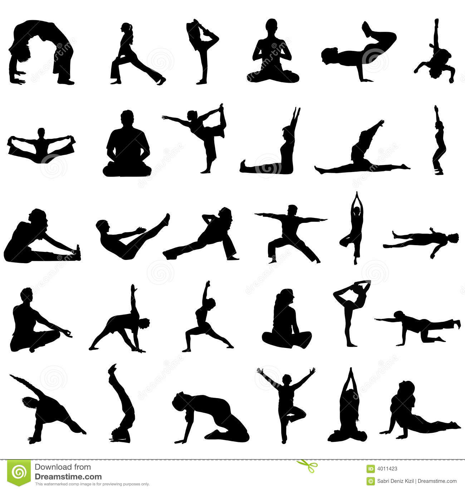 Yoga Vector Stock Vector Illustration Of Abdominal