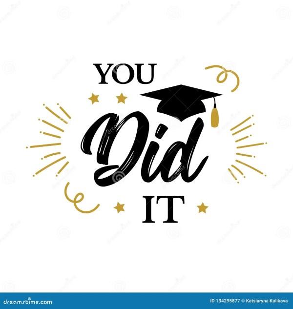 Congrats Graduates Class Of 2019 Party Stock