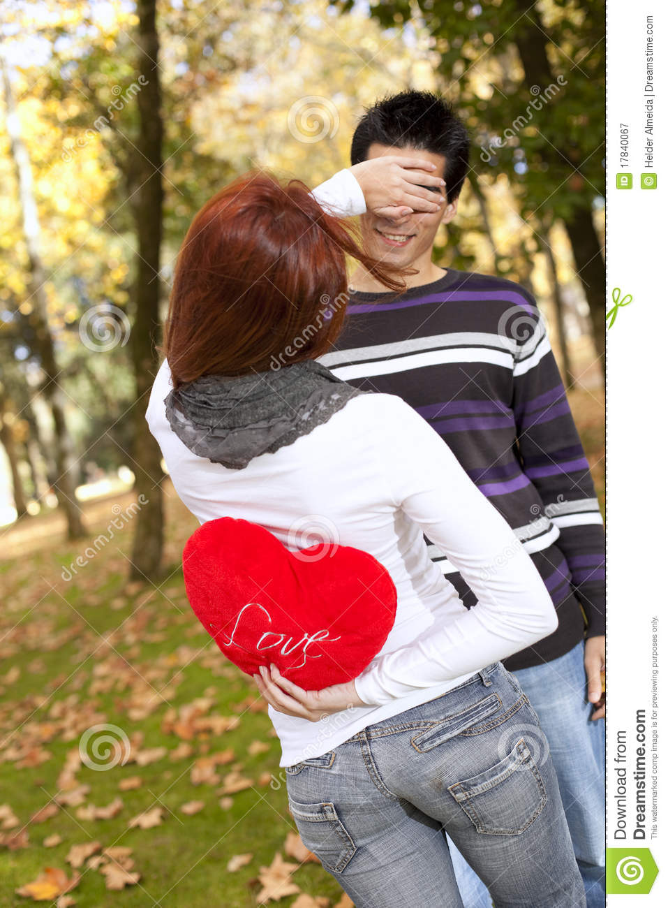 Focus Wallpaper Iphone X Young Couple Celebrating Valentine Day Stock Image Image