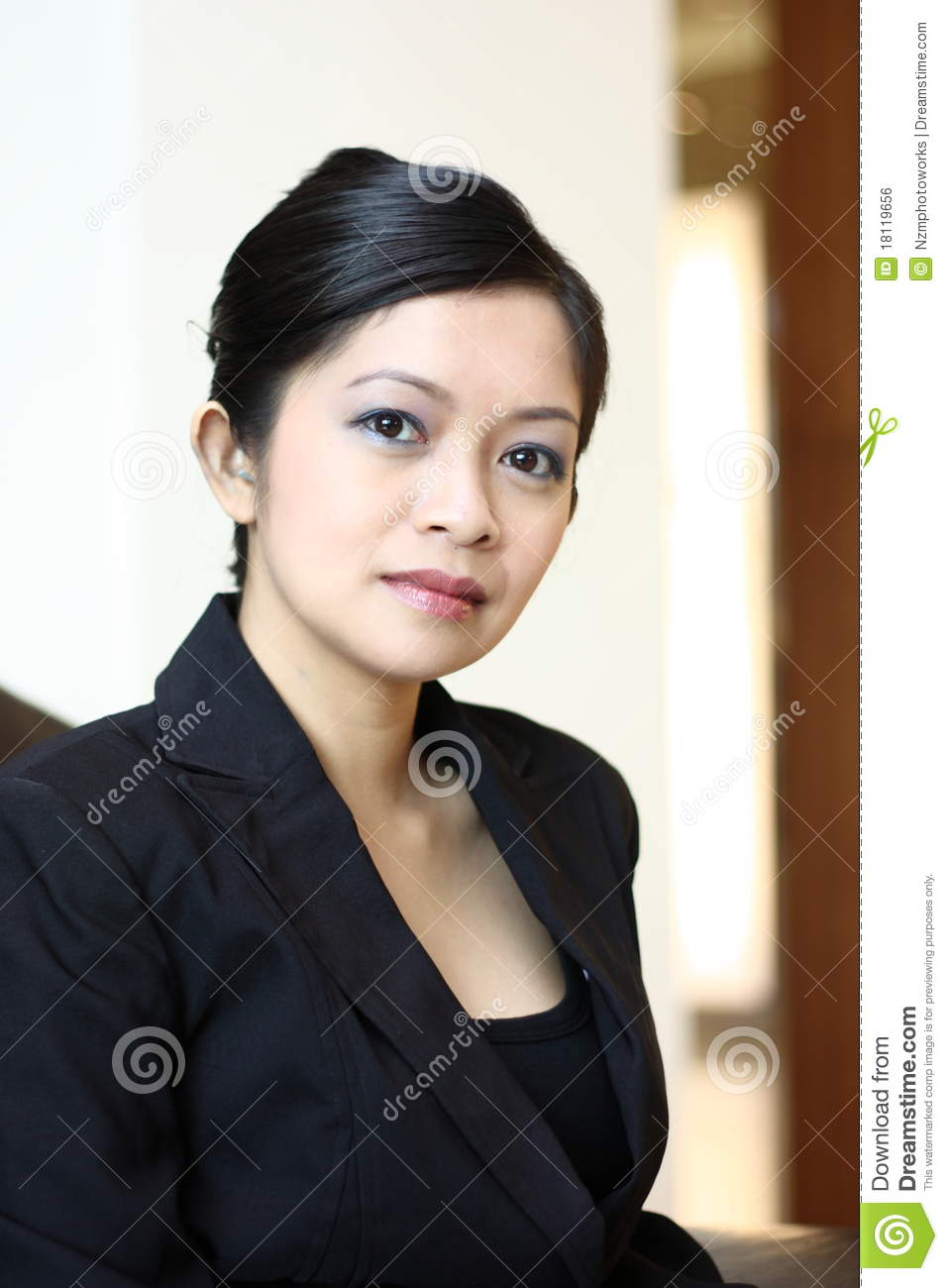 Young Female Executive Royalty Free Stock Image  Image