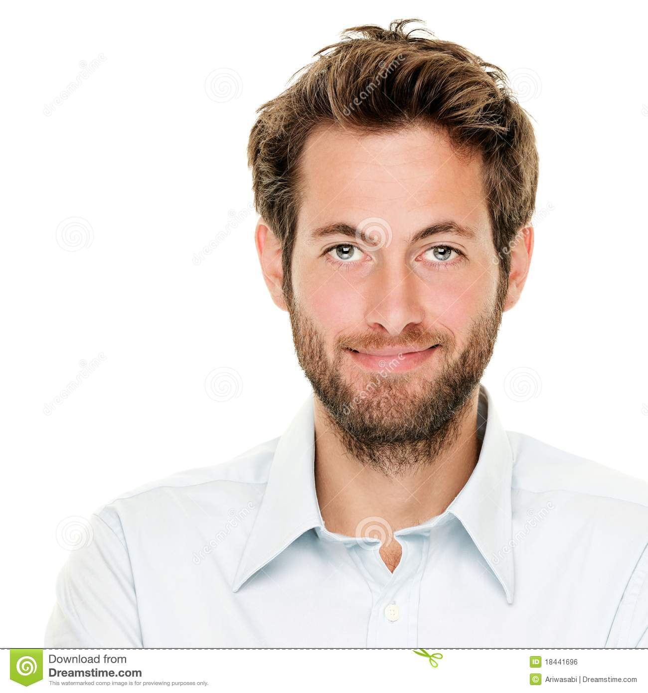 Young Man Portrait Royalty Free Stock Image  Image 18441696