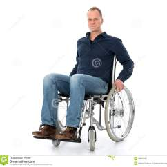 Wheelchair Man Teal Kitchen Chairs Young In Stock Image Of Male Assistance