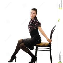 Woman Sitting In Chair Ergonomic Harvey Norman Vintage Pictures To Pin On
