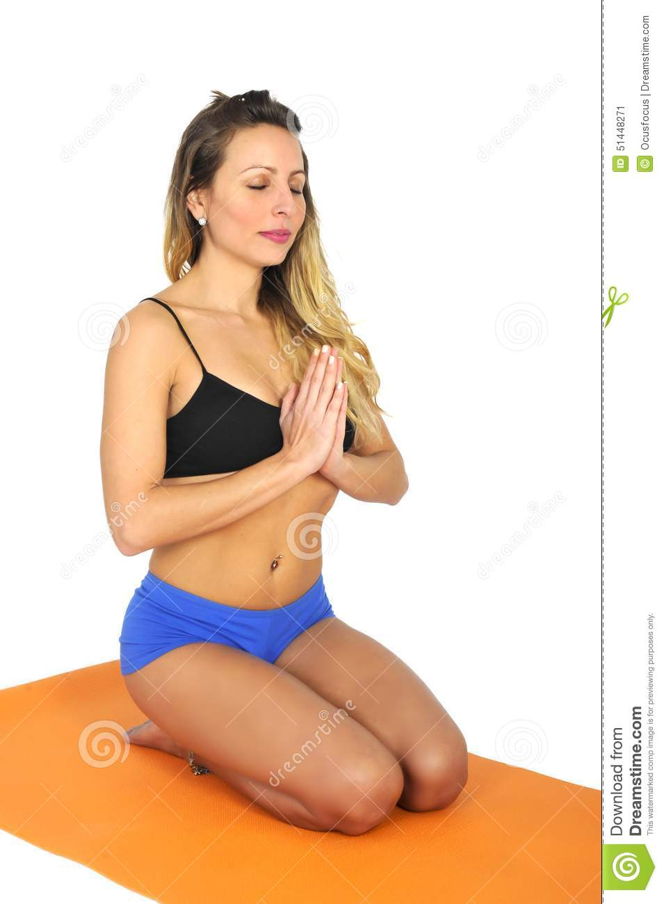 Hot Woman Doing Yoga : woman, doing, Young, Attractive, Woman, Doing, Exercise, Position, Sitting, Meditation, Relax, Stock, Image, Attractive,, Position:, 51448271