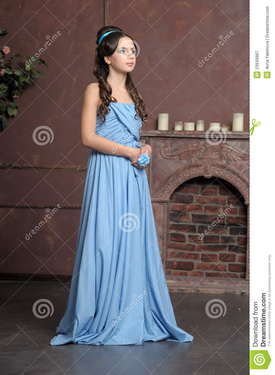 Young Victorian Girl Royalty Free Stock Photography  Image 23949987