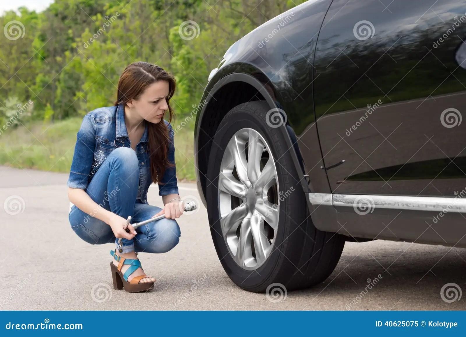 Fix Flat Car Tire Repair