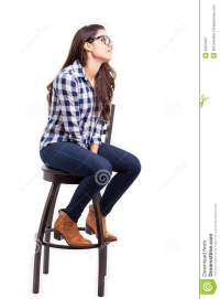 Woman Sitting On Chair Profile | www.imgkid.com - The ...