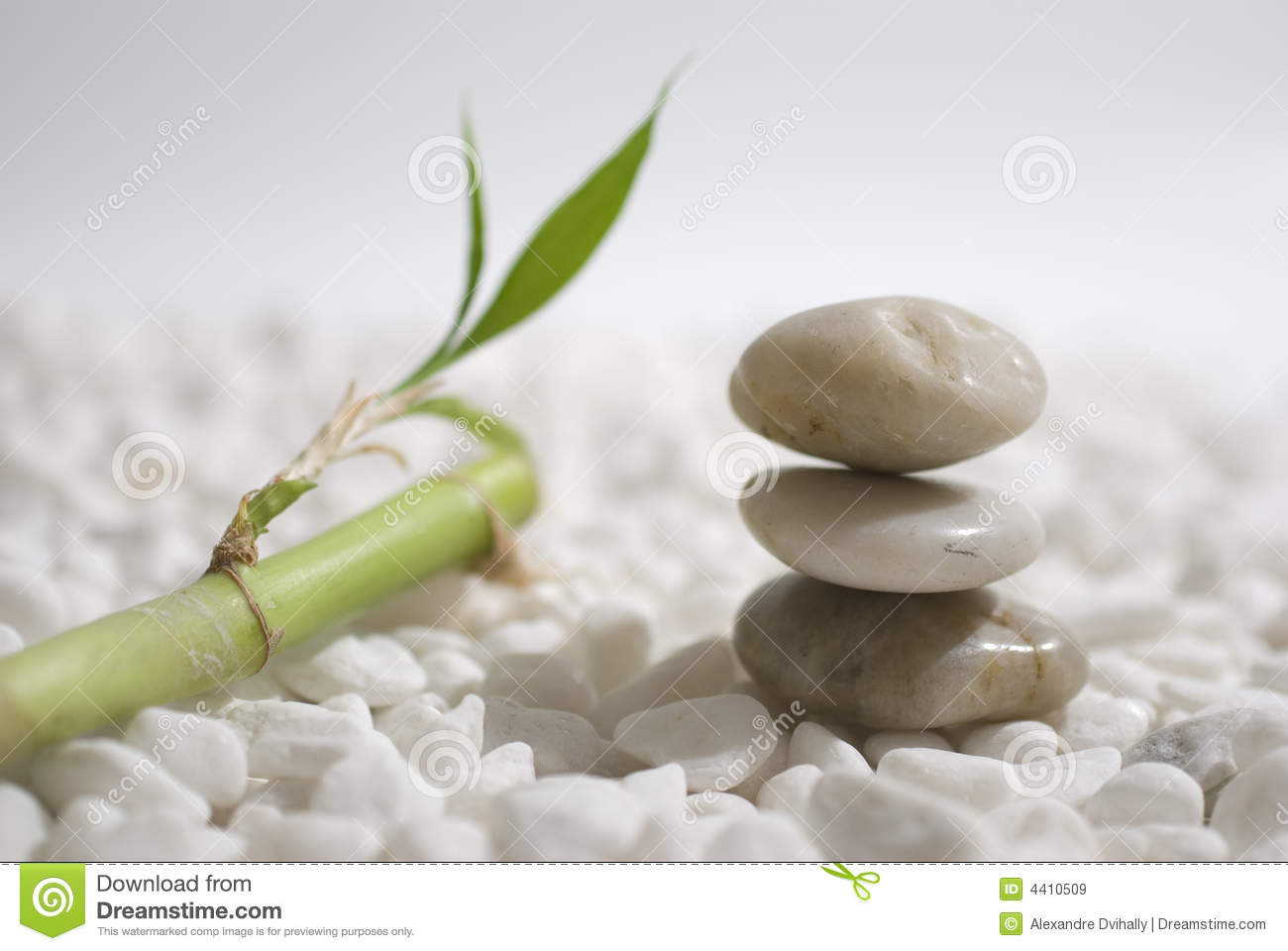 Zen Stones And Bamboo Royalty Free Stock Images  Image