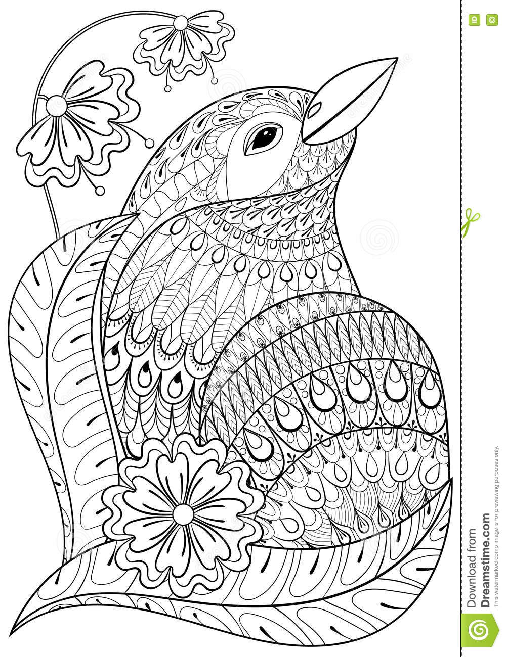 Boho Adult Coloring Coloring Pages