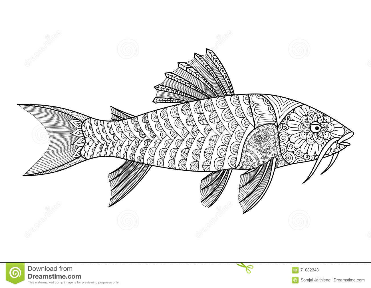 12 Best Free Printable Catfish Coloring Pages For Kids | 1009x1300