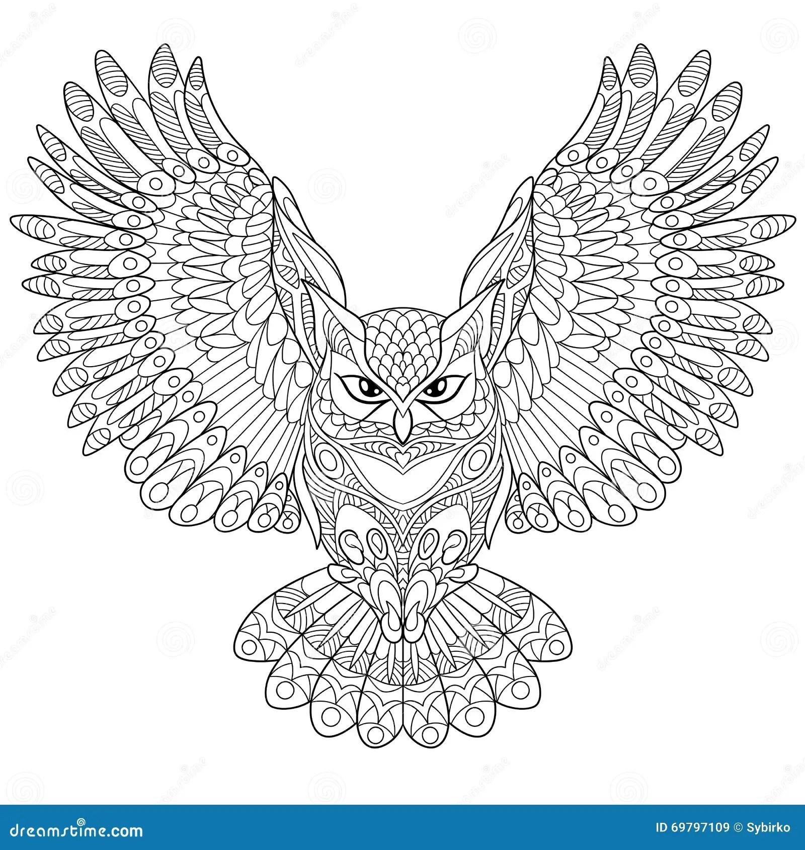 Zentangle Stylized Pheasant Bird Vector Illustration