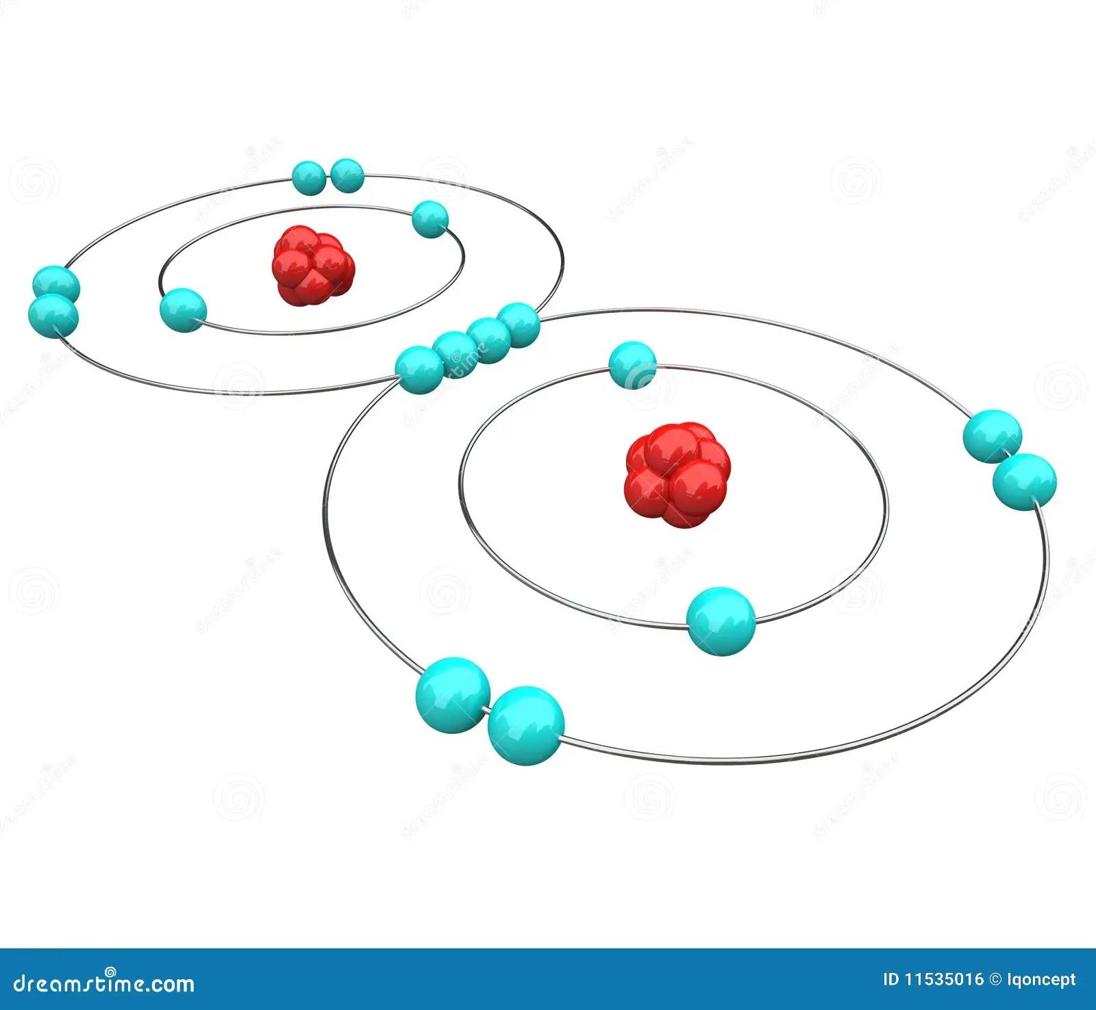 simple atom diagram derbi senda 50cc wiring x y great installation of zuurstof atoomdiagram stock illustratie table