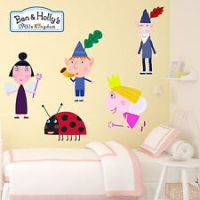 Ben and Holly little kingdom Kids Boys Girls Bedroom Wall ...