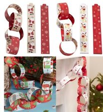 vintage christmas paper chains