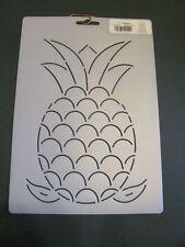 pineapple stencil quilting craft paint stencils