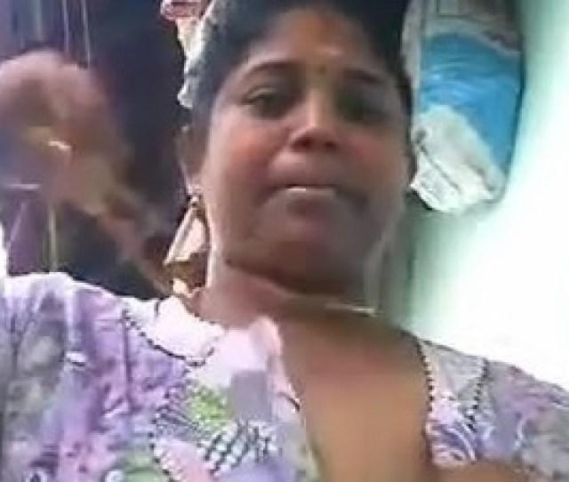 Indian Aunt Exposing Her Big Melons