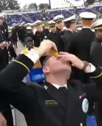 Crazy soldier